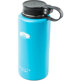 GSI Microlite Twist Vacuum Bottle blue